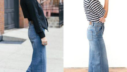 Актуальные джинсы — ТОП  8  моделей